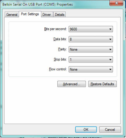 symbol usb com port emulation driver windows 7